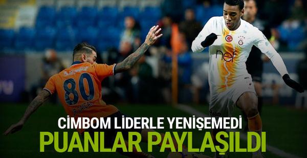 Medipol Başakşehir Galatasaray maçı özeti ve golleri