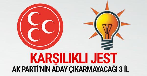 AK Parti'nin aday çıkarmayacağı 3 büyükşehir belli oldu