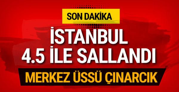 İstanbul ve Yalova sallandı depremin şiddeti kaç oldu?