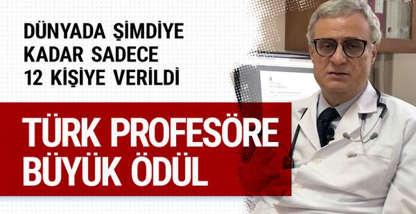 Türk bilim adamına sadece 12 kişinin sahip olduğu ödül verilecek