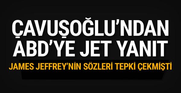 Çavuşoğlu'ndan Jeffrey'ye Astana yanıtı