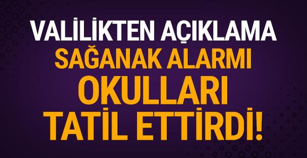 Mersin'de okullar tatil mi edildi? Sağanak alarmı!