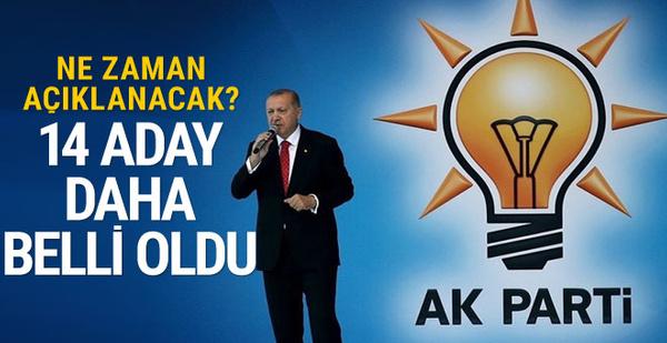AK Parti 14 ilin daha belediye başkan adayını açıklayacak