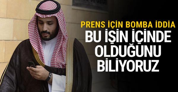 ABD'den bomba Veliaht Prens iddiası