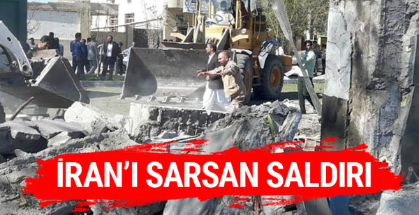 İran'da bomba yüklü araçla saldırı çok sayıda ölü ve yaralı var