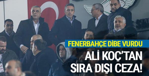 Ali Koç'tan Fenerbahçeli futbolculara sıra dışı ceza!