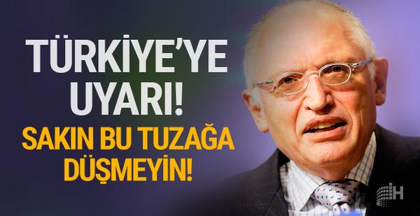 Verheugen'dan Türkiye'ye çağrı! Sakın bu tuzağa düşmeyin