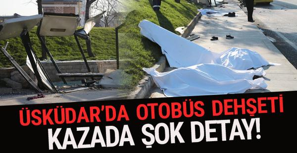 Üsküdar'da son dakika kaza haberi! Ölü ve yaralılar var
