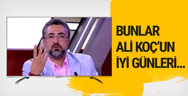 Serdar Ali Çelikler'den çarpıcı Ali Koç yazısı
