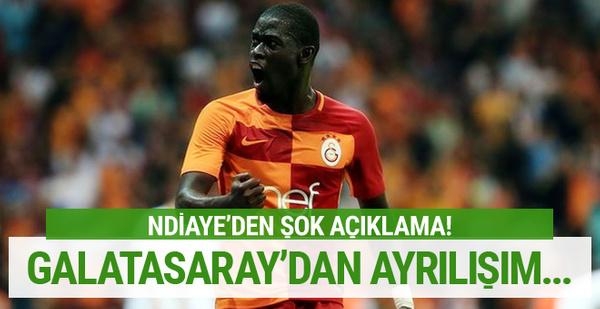 Ndiaye'den Galatasaray'a veda mesajı