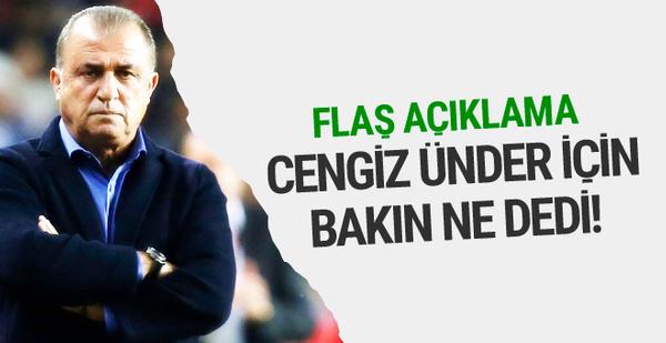 Fatih Terim İtalyanlar'a Cengiz Ünder'i anlattı