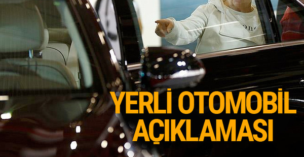 Bakan Özlü'den 'yerli otomobil' açıklaması