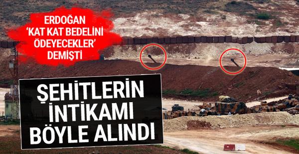 Erdoğan 'bedelini ödeyecekler' demişti! Şehitlerin intikamı alındı