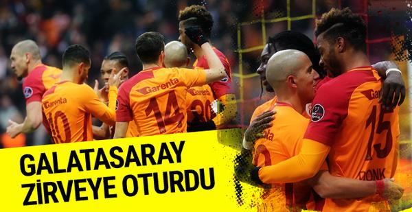 Galatasaray-Antalyaspor maçı golleri ve geniş özeti
