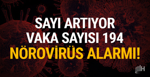 Sayı artıyor, 47 kişi karantinada: Nörovirüs alarmı!