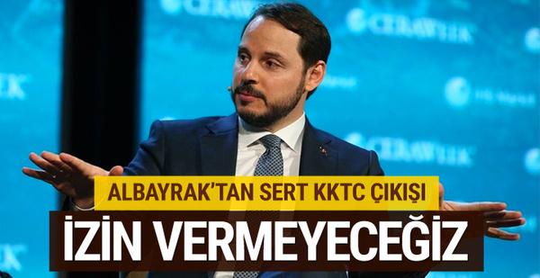 Berat Albayrak'tan flaş KKTC sözleri!