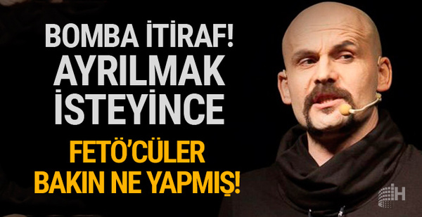 Atalay Demirci'den FETÖ itirafı! İkiye bölündüler