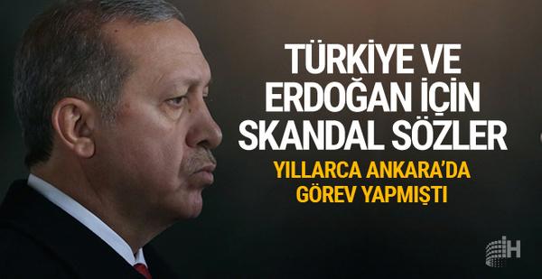 ABD'li isimden Türkiye ve Erdoğan için skandal sözler!