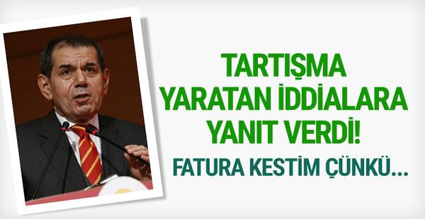 Dursun Özbek'ten tartışma yaratan iddialara yanıt