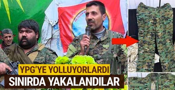 YPG'ye yolluyorlardı! Sınırda yakalandılar