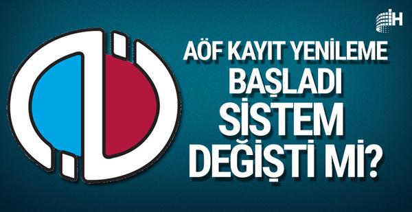 Anadolu Üniversitesi AÖF kayıt yenileme başladı harçlar ne kadar