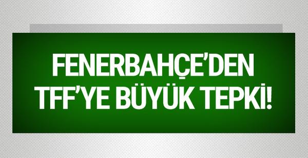 Fenerbahçe'den TFF'ye fikstür tepkisi!