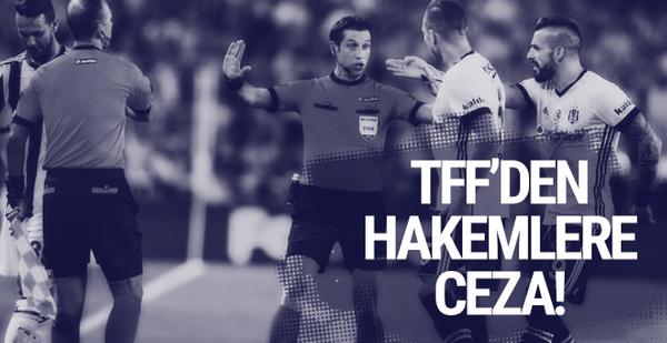 TFF'den hakemlere para cezası