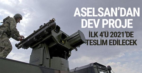Aselsan'dan dev proje ilk 4'ü 2021'de TSK'ya teslim edilecek