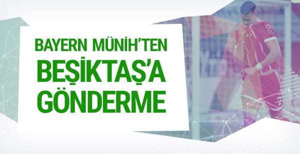 Bayern'den Beşiktaş'a gönderme! Vagner Love...