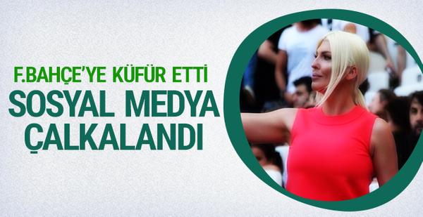 Tosic'in eşinden Fenerbahçe'ye küfür!
