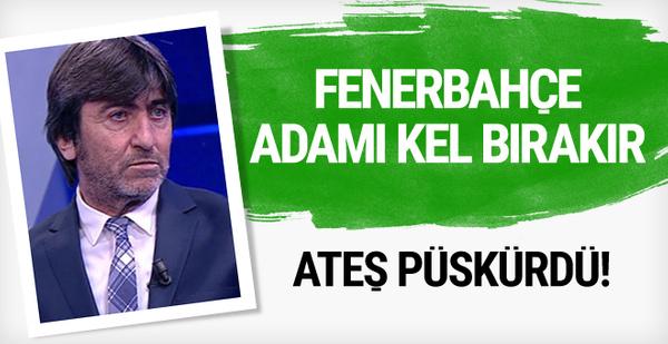 Rıdvan Dilmen'den Fenerbahçe'ye olay eleştiri!