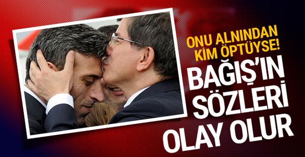 Egemen Bağış'tan Davutoğlu'na olay gönderme!