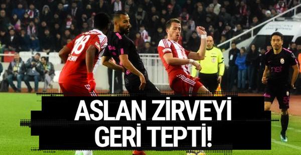 Sivasspor Galatasaray maçı golleri ve geniş özeti