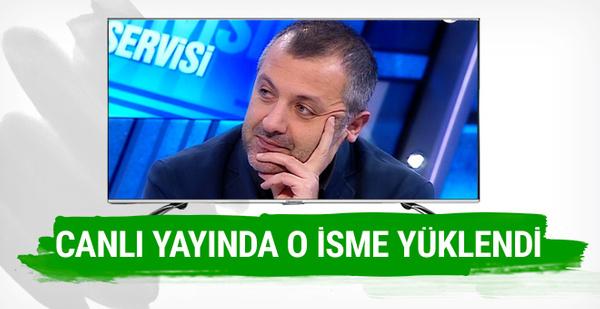 Mehmet Demirkol canlı yayında o isme fena yüklendi