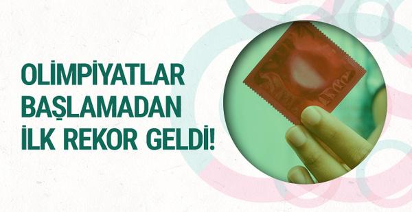 Kış olimpiyatlarında prezervatif rekoru kırılacak!