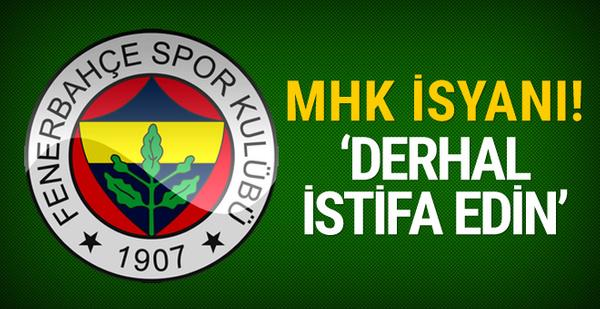 Fenerbahçe'den MHK'ya istifa çağrısı