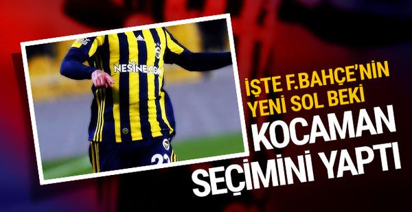 Fenerbahçe'nin yeni sol beki Serhat Kot