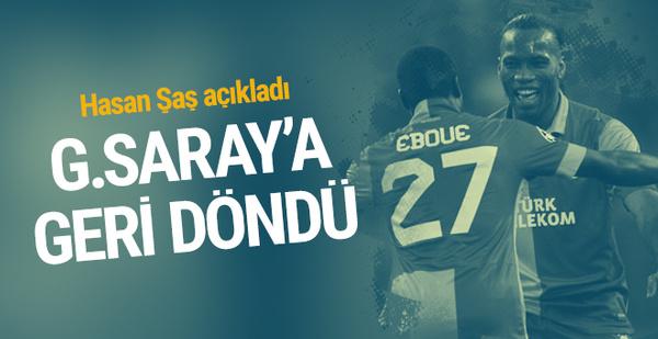 Eboue Galatasaray'a geri döndü!