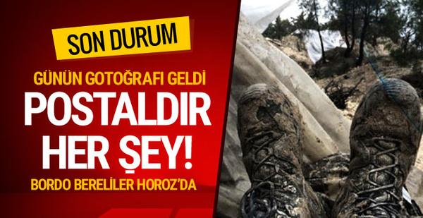 Afrin'de son durum ne? Bordo Berelilerden gelen görüntü