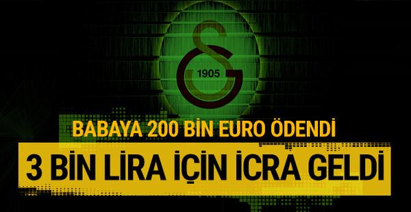 Babaya 200 bin euro ödendi 3 bin lira için icra geldi!