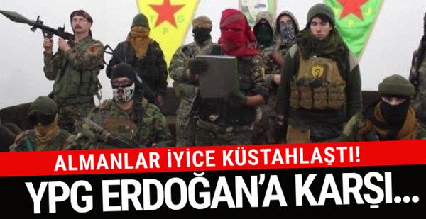 Alman Bild dergisinde küstah ifadeler! YPG Erdoğan'a...