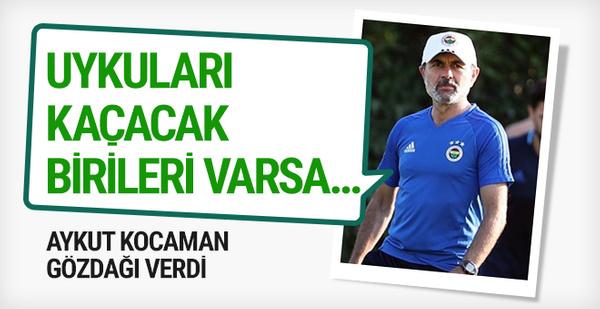 Aykut Kocaman'dan Başakşehir'e gözdağı