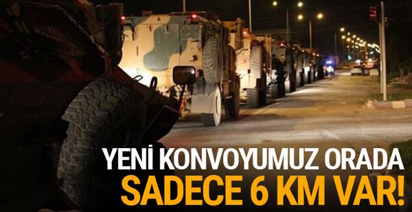 İdlib'e yeni bir TSK konvoyu daha intikal etti