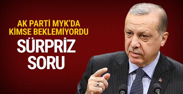 Erken seçim var mı Erdoğan beklenmedik soruyu sordu