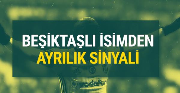 Beşiktaş'ta Vagner Love'dan ayrılık sinyali