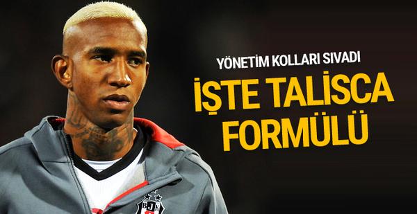 Beşiktaş'tan Talisca'yı bırakmayacak formül
