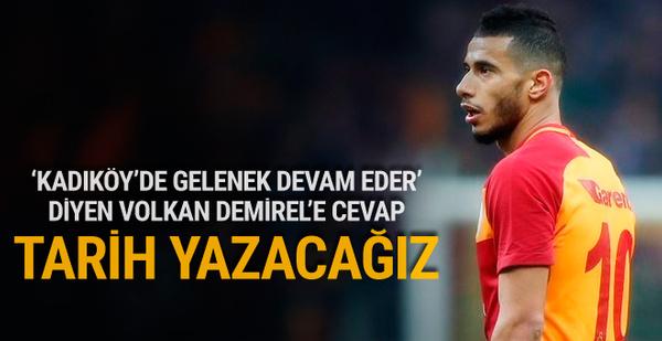 Galatasaray'ın yıldızından iddialı derbi yorumu