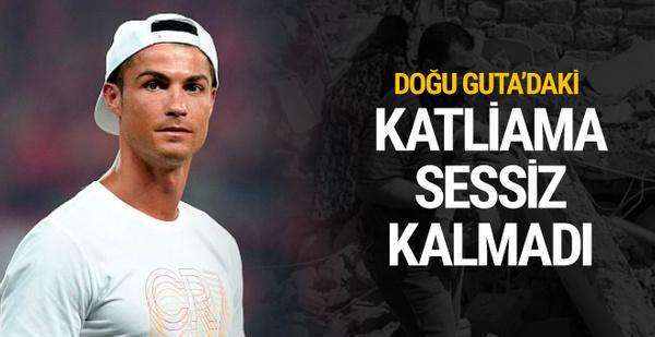Ronaldo Doğu Guta'daki katliama sessiz kalmadı