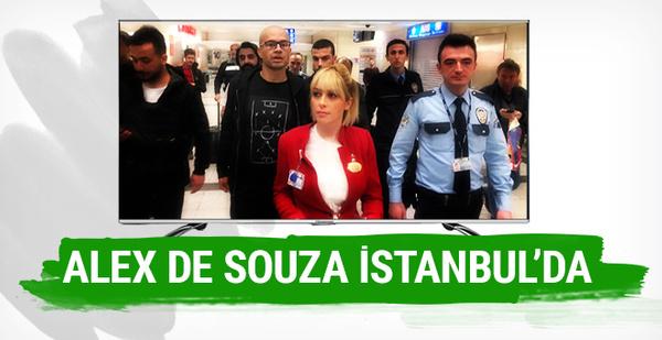Alex de Souza İstanbul'a geldi!