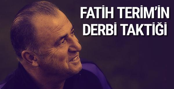 Fatih Terim'in derbi taktiği hazır